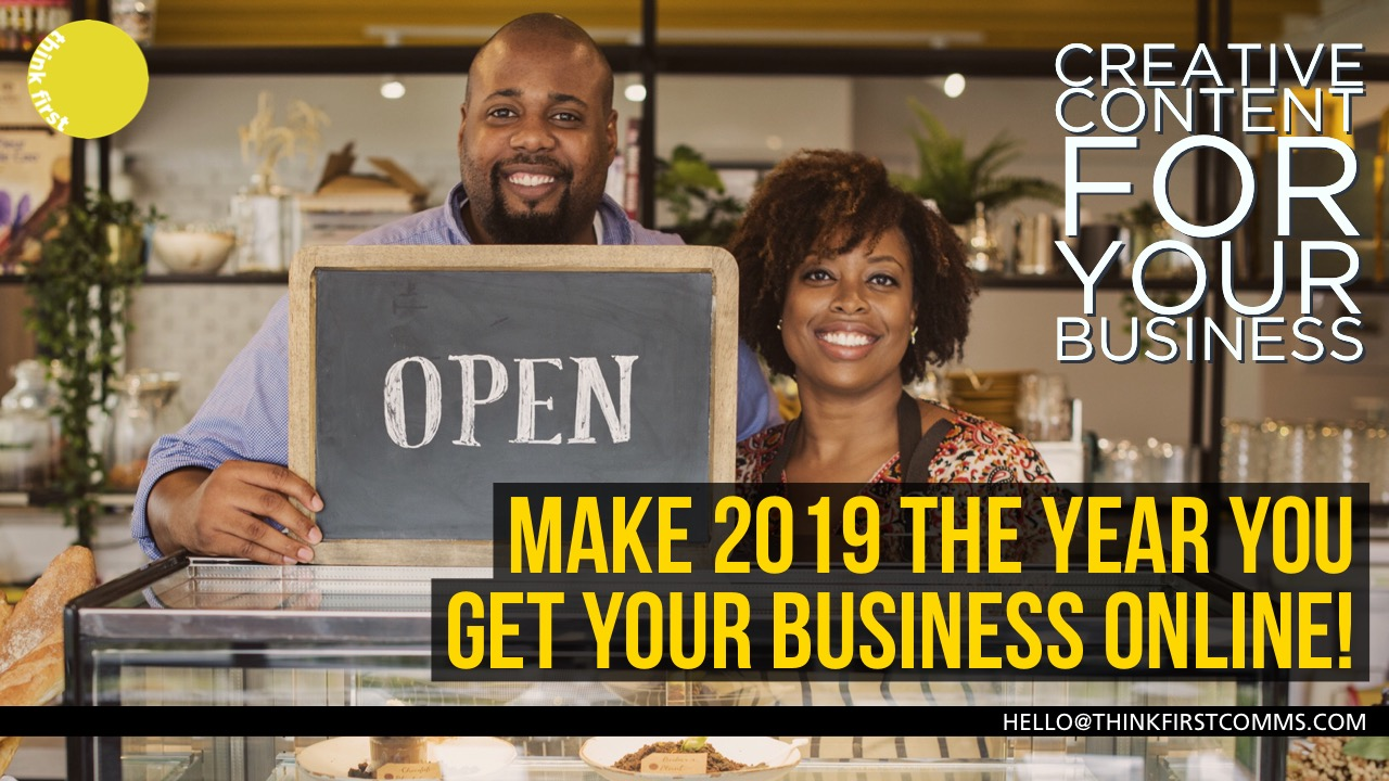 Make 2019 the year you get your business online
