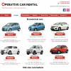 Operative Car Rentals website